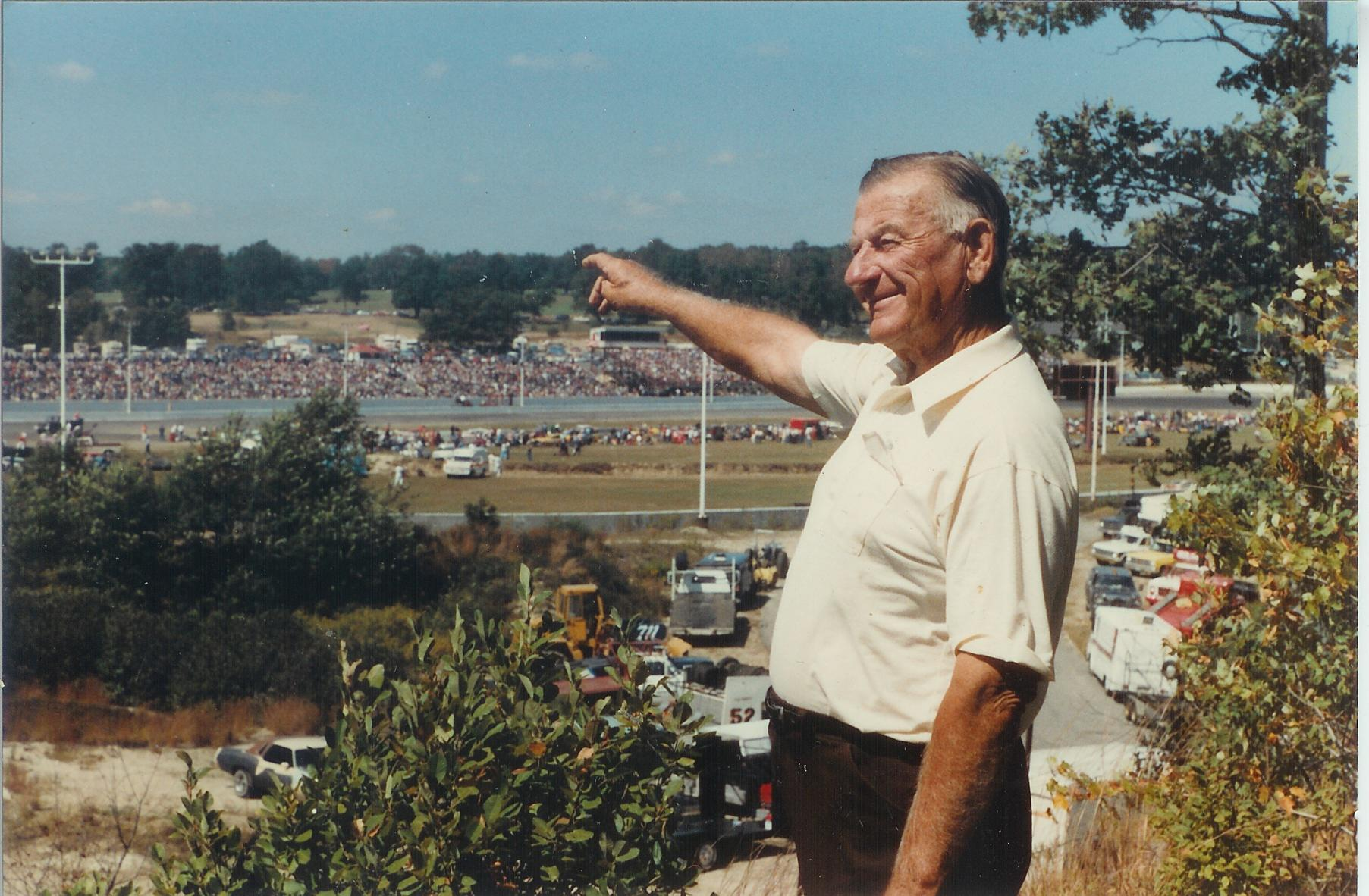 John Hoenig and the Thompson Speedway