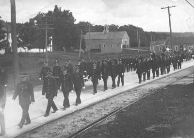 1919 Parade in Grosvenordale