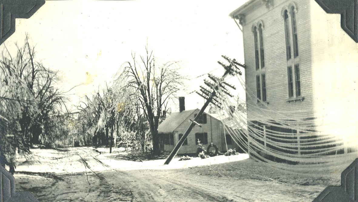 View of icestorm Quaddick Road