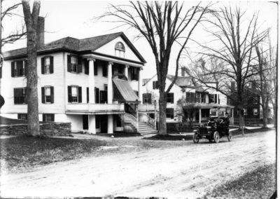 The Backus House on the Corner of Chase Road and Rt 193, Thompson Hill - Ron Jolicoeur - c1910